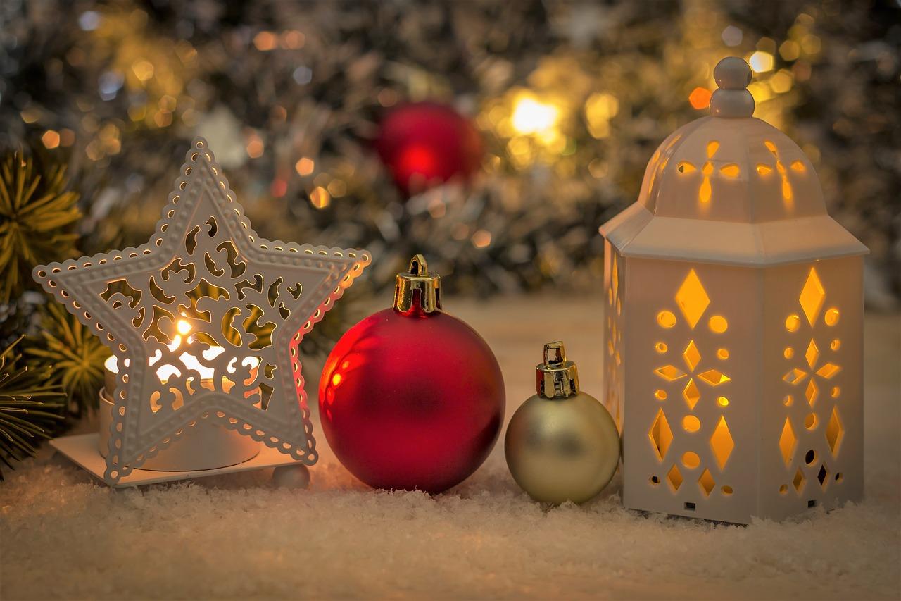 esprit de Noël au cœur de sa chambre